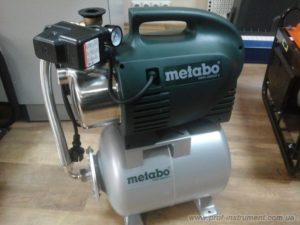 Преимущества и недостатки насосных станций Metabo
