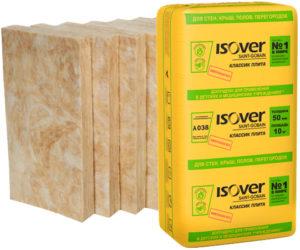 Isover Классик: технические характеристики теплоизоляционной плиты
