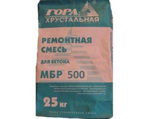 Ремонтные смеси для бетона: характеристики продуции