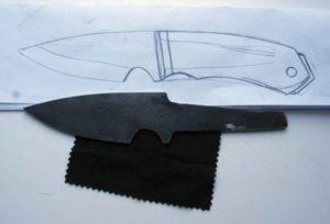Как изготовить нож из пилы своими руками?