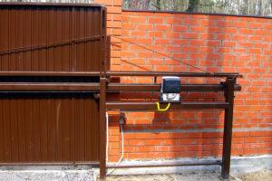 Как выбрать откатные ворота с электроприводом?