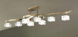 Потолочные люстры для низких потолков