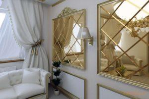 Зеркальная плитка: особенности выбора
