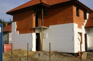 Утепление фасада кирпичного дома современными методами