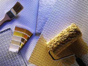 Стеклообои под покраску: особенности материала