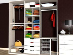 Особенности наполнения шкафа