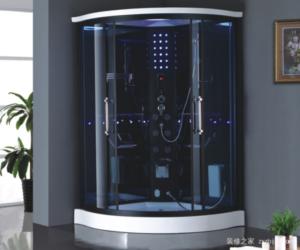 Душевые кабины с парогенератором: виды и особенности устройства