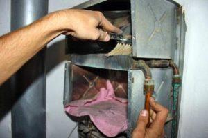 Как почистить газовую колонку?