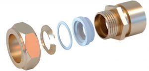 Выбираем фитинги для гофрированных труб из нержавеющей стали