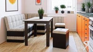 Выбираем кухонный диван для маленькой кухни