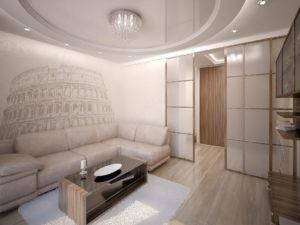 Тонкости ремонта маленького зала площадью 18 кв. м