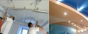 Потолки в хрущевках: как устранить недостатки стандартной высоты?