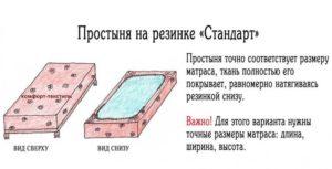Простыни на резинке: какие размеры бывают и как выбрать подходящую?