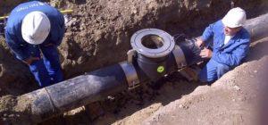 Правила врезки в трубу водопровода