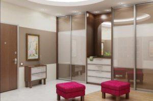 Шкаф-купе в коридор или другую маленькую комнату