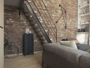 Особенности обустройства лестниц в стиле лофт