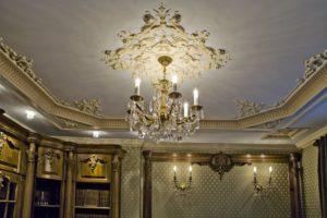 Гипсовые потолки в дизайне интерьера