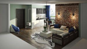Стили интерьера квартиры-студии