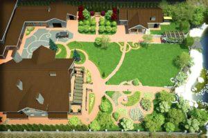 Особенности ландшафтного дизайна участка площадью 30 соток