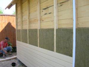 Особенности утепления дома снаружи минватой под сайдинг