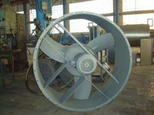 Осевые вентиляторы: характеристики, разновидности и монтаж