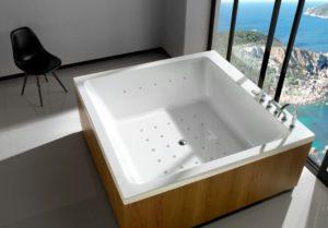 Квадратные ванны: варианты дизайна и советы по выбору