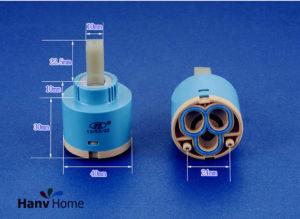 Керамический картридж для смесителя: устройство и виды