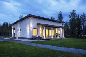Односкатные крыши одноэтажных домов: преимущества оригинальных решений