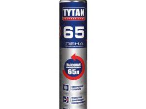 Монтажная пена Tytan: отличительные черты