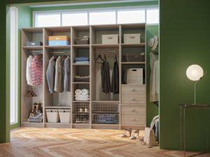 Открытые шкафы: где используются?