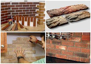 Декоративный кирпич: применение в интерьере и советы по изготовлению