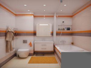 Как спланировать интерьер ванной комнаты, совмещенной с туалетом?