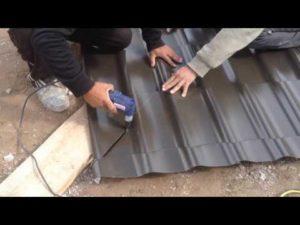 Чем резать металлочерепицу?