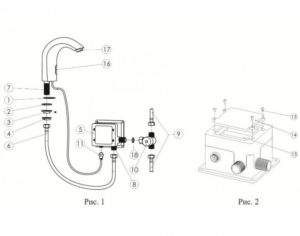 Сенсорный смеситель для раковины: принцип работы