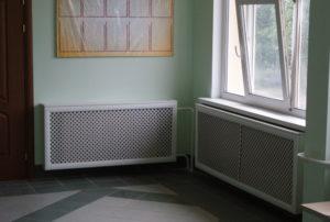 Разновидности и преимущества коробов для батареи отопления
