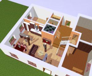 Идеи планировки загородного дома размером 10 на 10 м