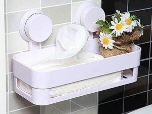 Полки для ванной комнаты: виды и особенности выбора