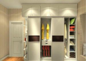 Шкафы с антресолью: виды и идеи в интерьере