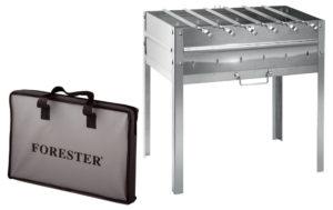 Мангалы Forester: правила выбора надежной конструкции для пикника