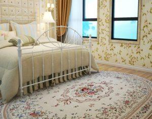 Овальные ковры в интерьере