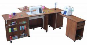Выбираем стол-трансформер для шитья
