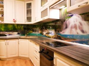 Фартук из ПВХ для кухни: особенности и интересные примеры
