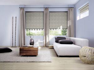 Римские шторы: идеи дизайна