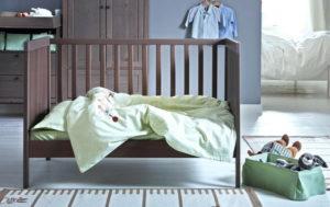 Детские кроватки Ikea для новорожденных: обзор популярных моделей и советы по выбору
