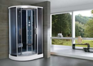 Душевые кабины с ванной: выбор модели и ее характеристики