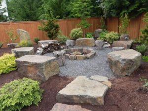 Камни для ландшафтного дизайна: идеи декора