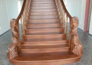Разновидности деревянных ступеней для лестниц