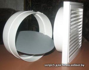 Выбор и установка вентиляционной решетки с обратным клапаном