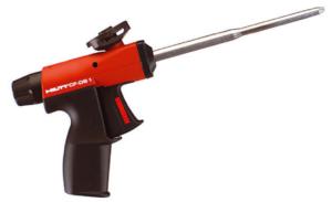 Характеристики и особенности пистолетов для монтажной пены Hilti