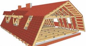 Особенности, устройство и строительство мансардной крыши